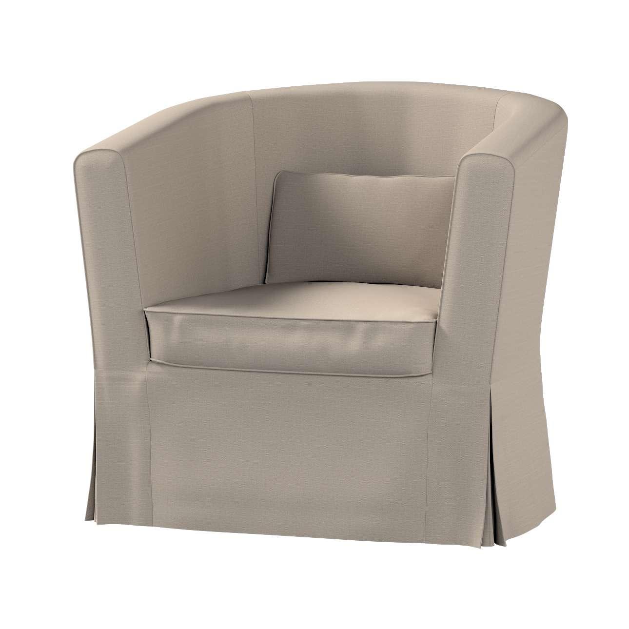 Pokrowiec na fotel Ektorp Tullsta w kolekcji Living, tkanina: 161-53