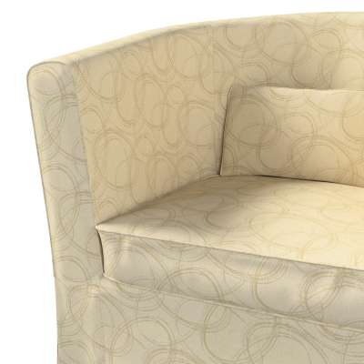 Pokrowiec na fotel Ektorp Tullsta w kolekcji Living, tkanina: 161-81