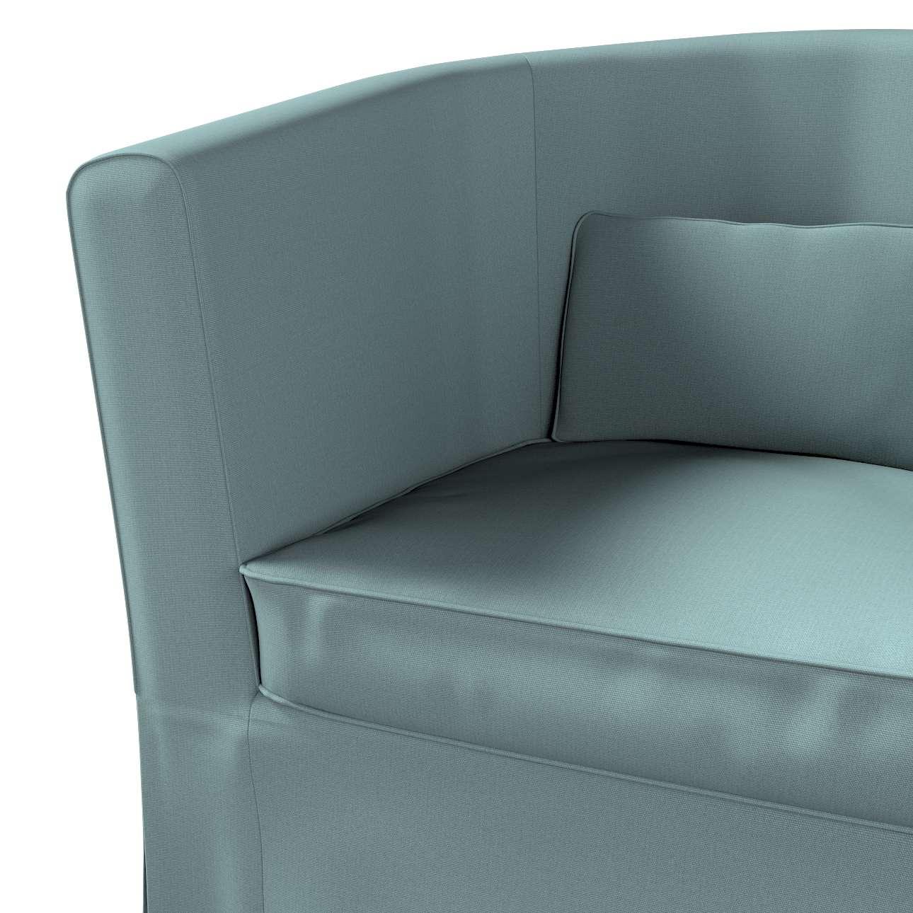 Pokrowiec na fotel Ektorp Tullsta w kolekcji Cotton Panama, tkanina: 702-40