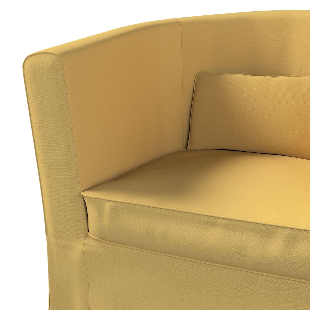 Pokrowiec na fotel Ektorp Tullsta w kolekcji Cotton Panama, tkanina: 702-41