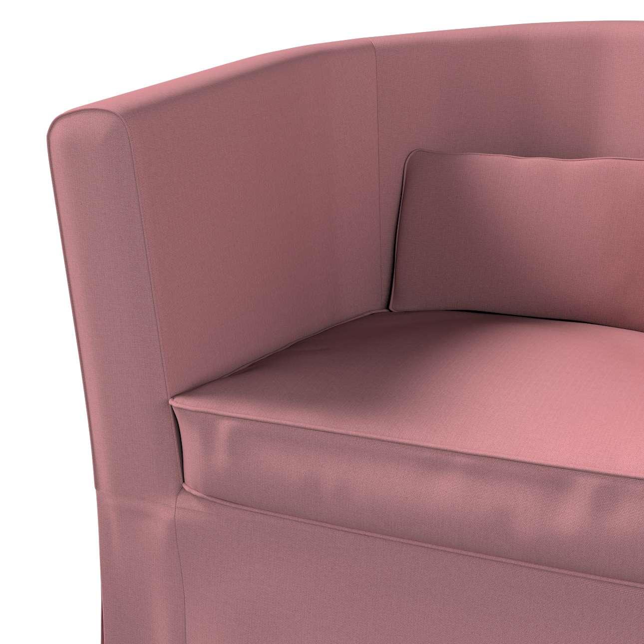 Pokrowiec na fotel Ektorp Tullsta w kolekcji Cotton Panama, tkanina: 702-43