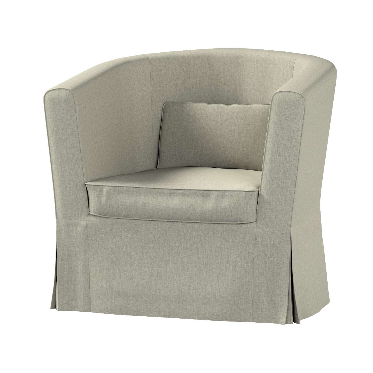 Pokrowiec na fotel Ektorp Tullsta w kolekcji City, tkanina: 704-80