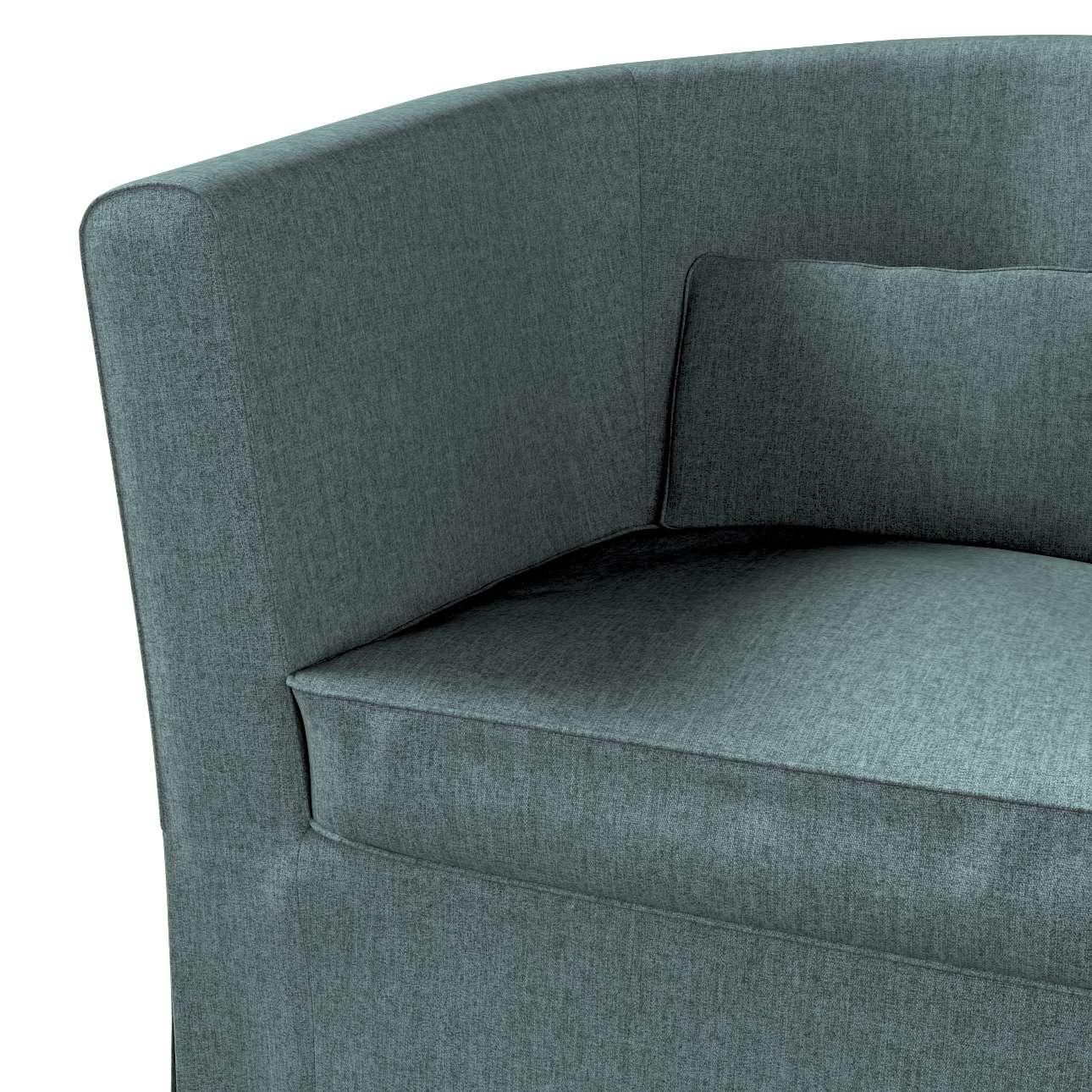 Pokrowiec na fotel Ektorp Tullsta w kolekcji City, tkanina: 704-85