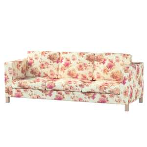 Pokrowiec na sofę Karlanda 3-osobową nierozkładaną, krótki Sofa Karlanda 3-os w kolekcji Mirella, tkanina: 141-06
