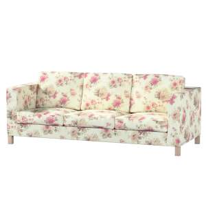 Karlanda 3-Sitzer  Sofabezug nicht ausklappbar kurz Karlanda 3-Sitzer, kurz von der Kollektion Mirella, Stoff: 141-07