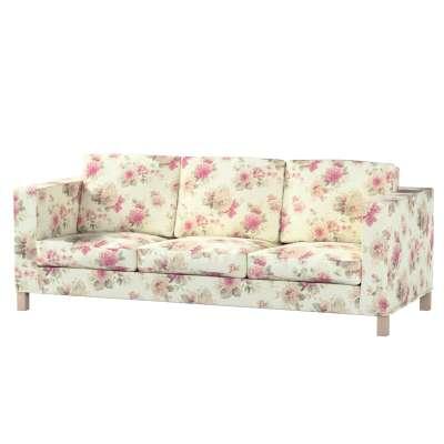 Karlanda 3-üléses  kanapé huzat nem kinyitható rövid a kollekcióból Londres Bútorszövet, Dekoranyag: 141-07