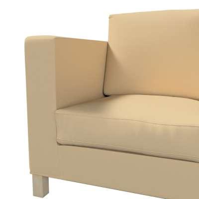 Pokrowiec na sofę Karlanda 3-osobową nierozkładaną, krótki w kolekcji Cotton Panama, tkanina: 702-01