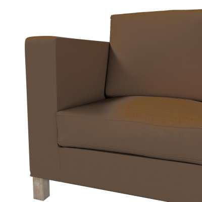 Karlanda klädsel <br>3-sits soffa - kort klädsel i kollektionen Panama Cotton, Tyg: 702-02