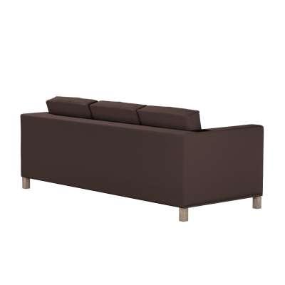 Bezug für Karlanda 3-Sitzer Sofa nicht ausklappbar, kurz von der Kollektion Cotton Panama, Stoff: 702-03
