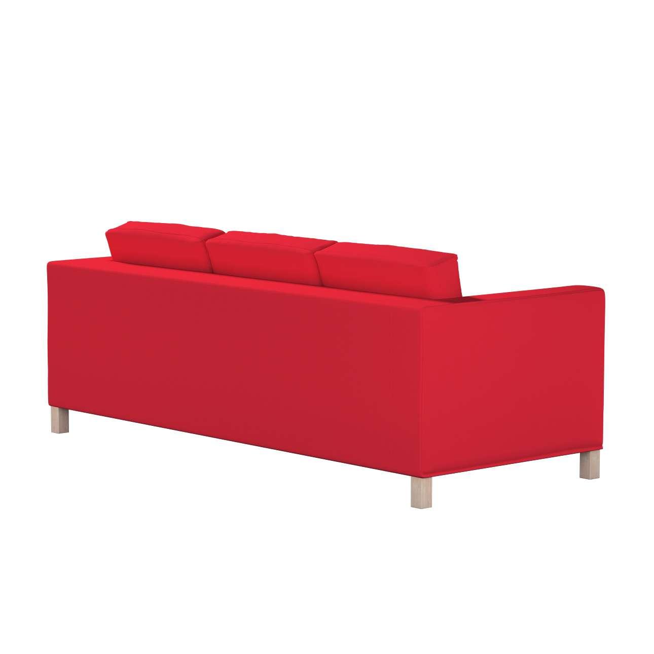 Karlanda 3-üléses  kanapé huzat nem kinyitható rövid a kollekcióból Cotton Panama Bútorszövet, Dekoranyag: 702-04