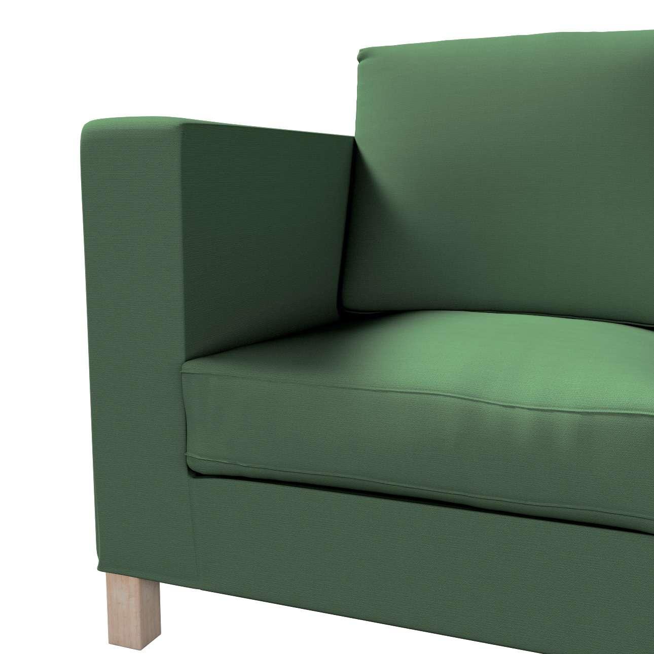 Karlanda betræk 3 sæder, kort fra kollektionen Cotton Panama, Stof: 702-06