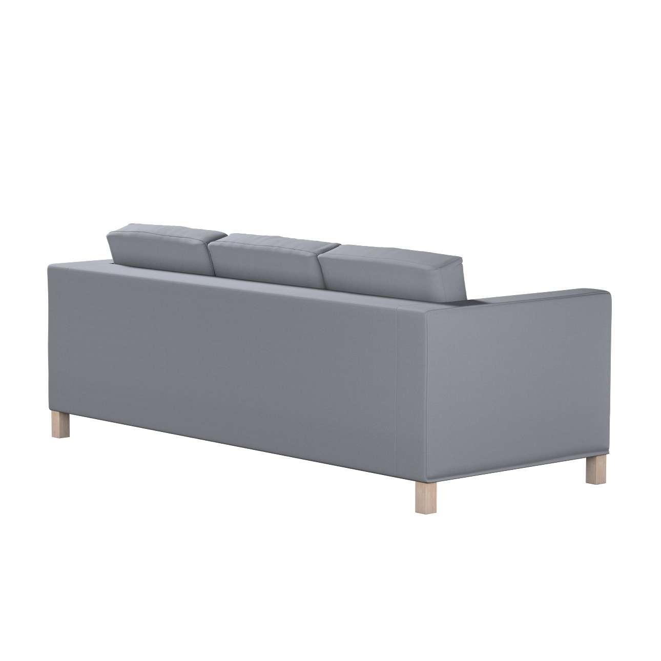 Potah na pohovku IKEA  Karlanda 3-místná nerozkládací, krátký v kolekci Cotton Panama, látka: 702-07