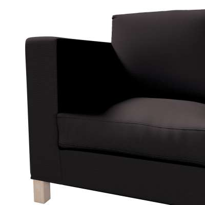 Karlanda 3-Sitzer Sofabezug nicht ausklappbar kurz von der Kollektion Cotton Panama, Stoff: 702-08