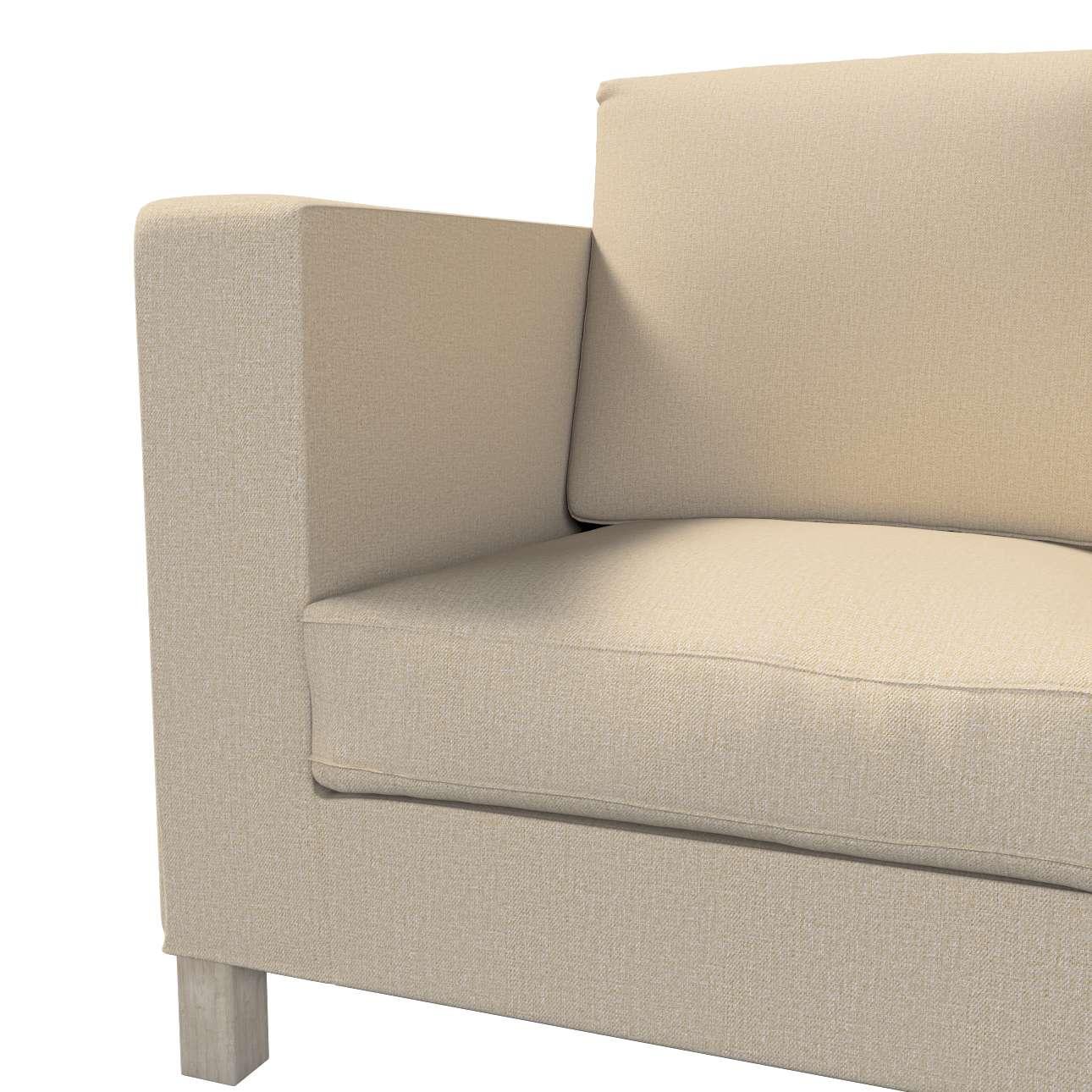Pokrowiec na sofę Karlanda 3-osobową nierozkładaną, krótki w kolekcji Edinburgh, tkanina: 115-78