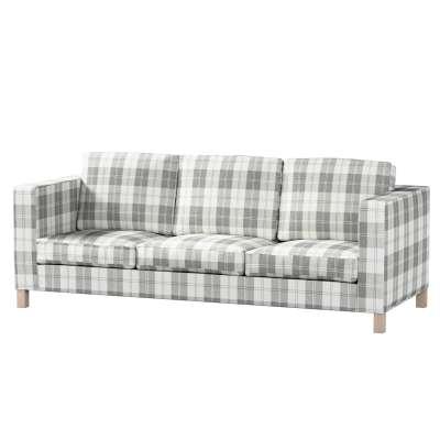 Karlanda 3-Sitzer Sofabezug nicht ausklappbar kurz von der Kollektion Edinburgh , Stoff: 115-79