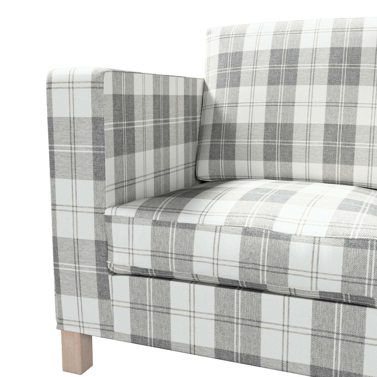 Potah na pohovku IKEA  Karlanda 3-místná nerozkládací, krátký v kolekci Edinburgh, látka: 115-79