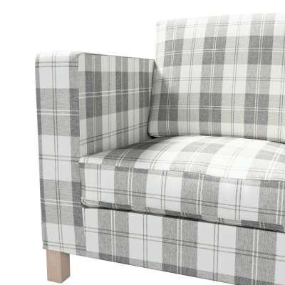 Pokrowiec na sofę Karlanda 3-osobową nierozkładaną, krótki w kolekcji Edinburgh, tkanina: 115-79