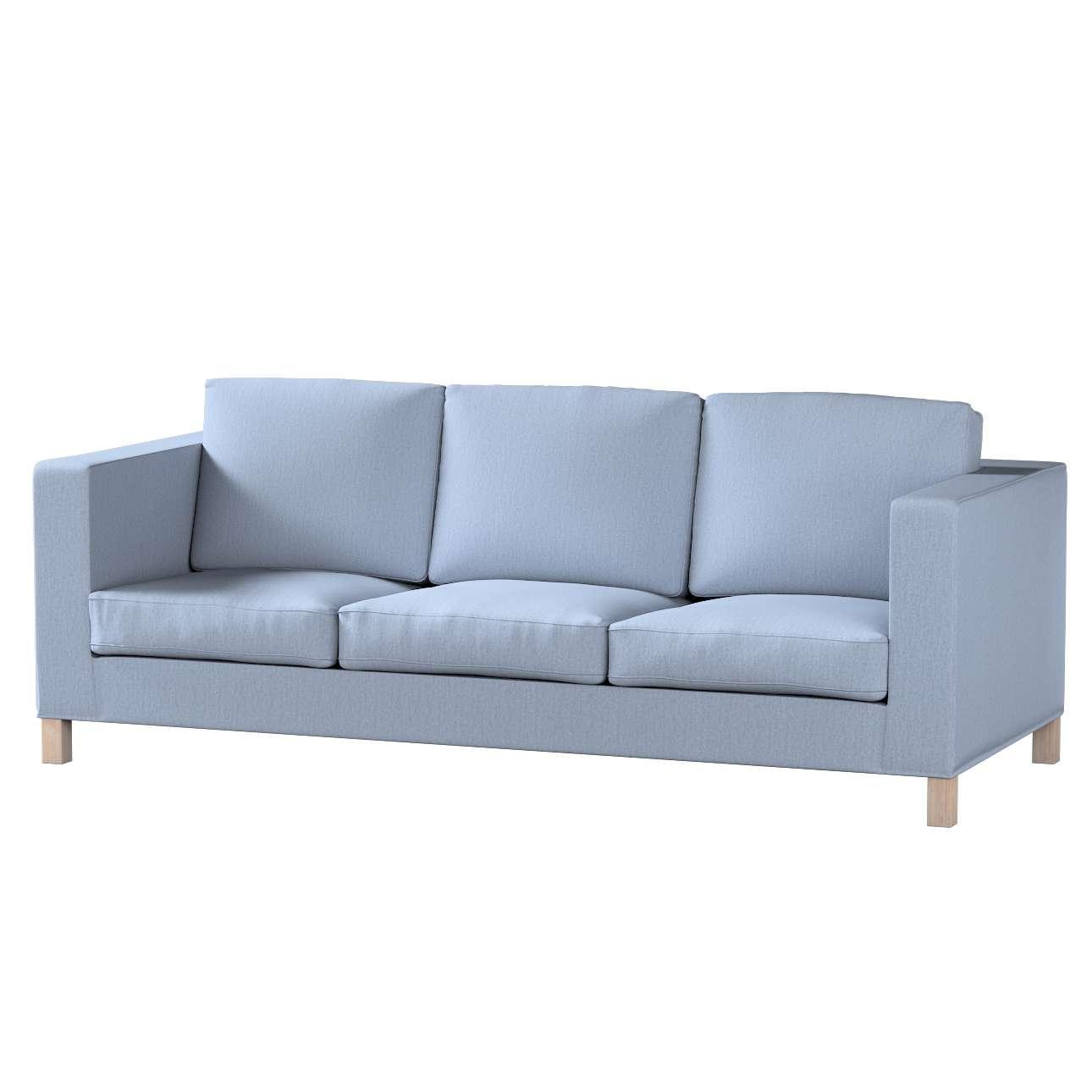 Karlanda 3-Sitzer  Sofabezug nicht ausklappbar kurz Karlanda 3-Sitzer, kurz von der Kollektion Chenille , Stoff: 702-13