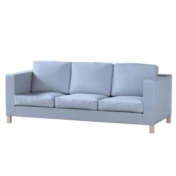Potah na pohovku IKEA  Karlanda 3-místná nerozkládací, krátký pohovka Karlanda 3-os v kolekci Chenille , látka: 702-13