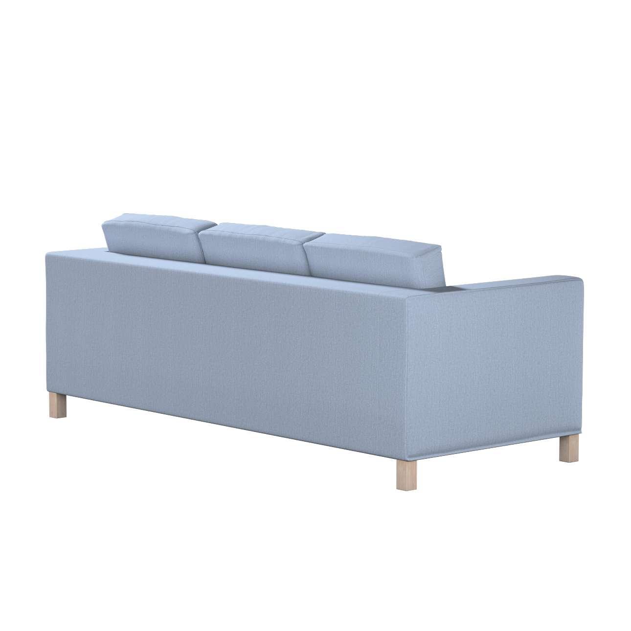 Potah na pohovku IKEA  Karlanda 3-místná nerozkládací, krátký v kolekci Chenille, látka: 702-13