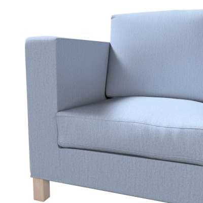 Pokrowiec na sofę Karlanda 3-osobową nierozkładaną, krótki w kolekcji Chenille, tkanina: 702-13