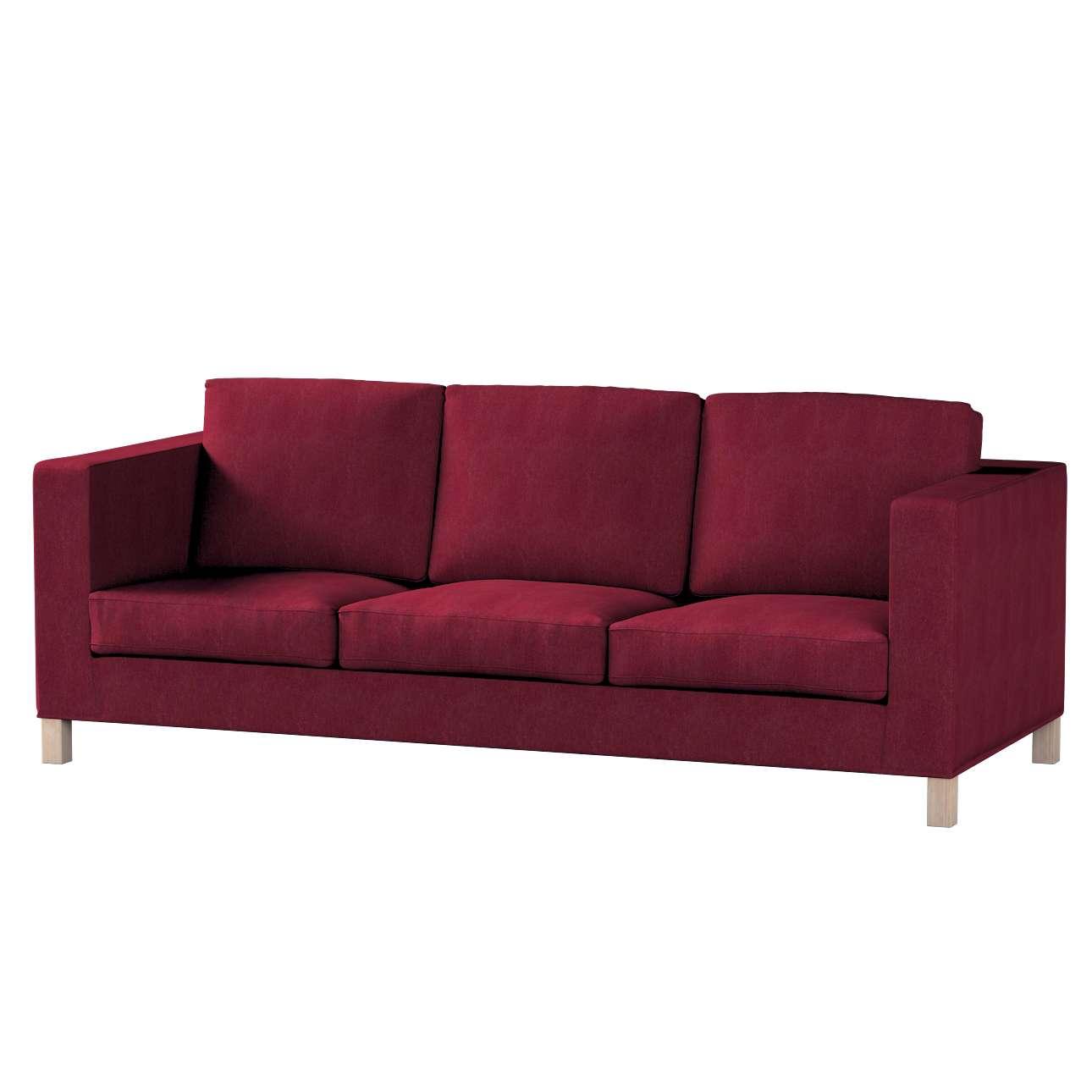Potah na pohovku IKEA  Karlanda 3-místná nerozkládací, krátký pohovka Karlanda 3-os v kolekci Chenille , látka: 702-19