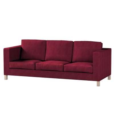 Bezug für Karlanda 3-Sitzer Sofa nicht ausklappbar, kurz von der Kollektion Chenille , Stoff: 702-19