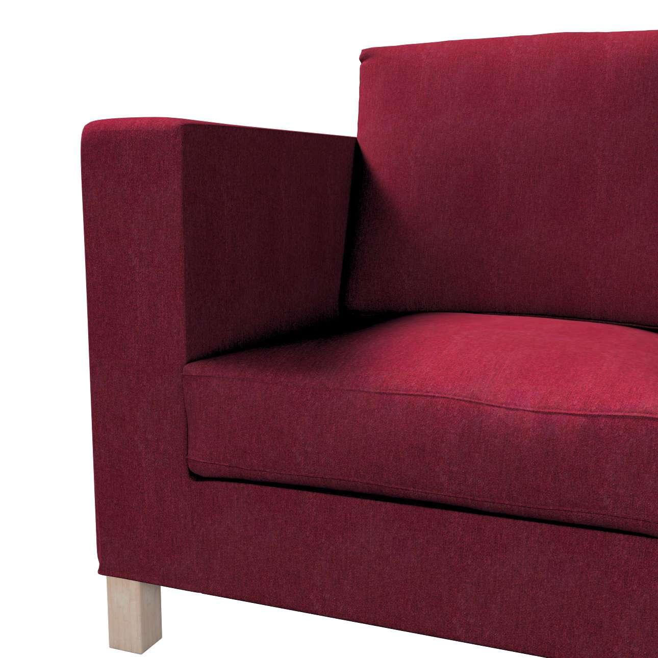 Pokrowiec na sofę Karlanda 3-osobową nierozkładaną, krótki w kolekcji Chenille, tkanina: 702-19