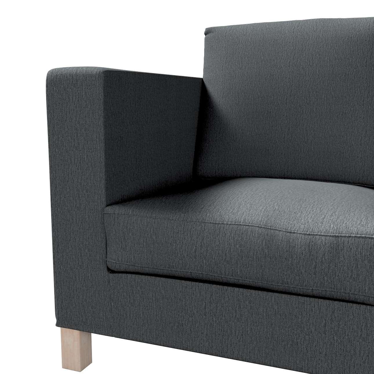 Bezug für Karlanda 3-Sitzer Sofa nicht ausklappbar, kurz von der Kollektion Chenille , Stoff: 702-20