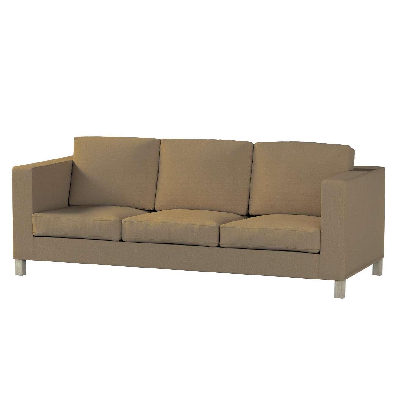 Pokrowiec na sofę Karlanda 3-osobową nierozkładaną, krótki Sofa Karlanda 3-os w kolekcji Chenille, tkanina: 702-21