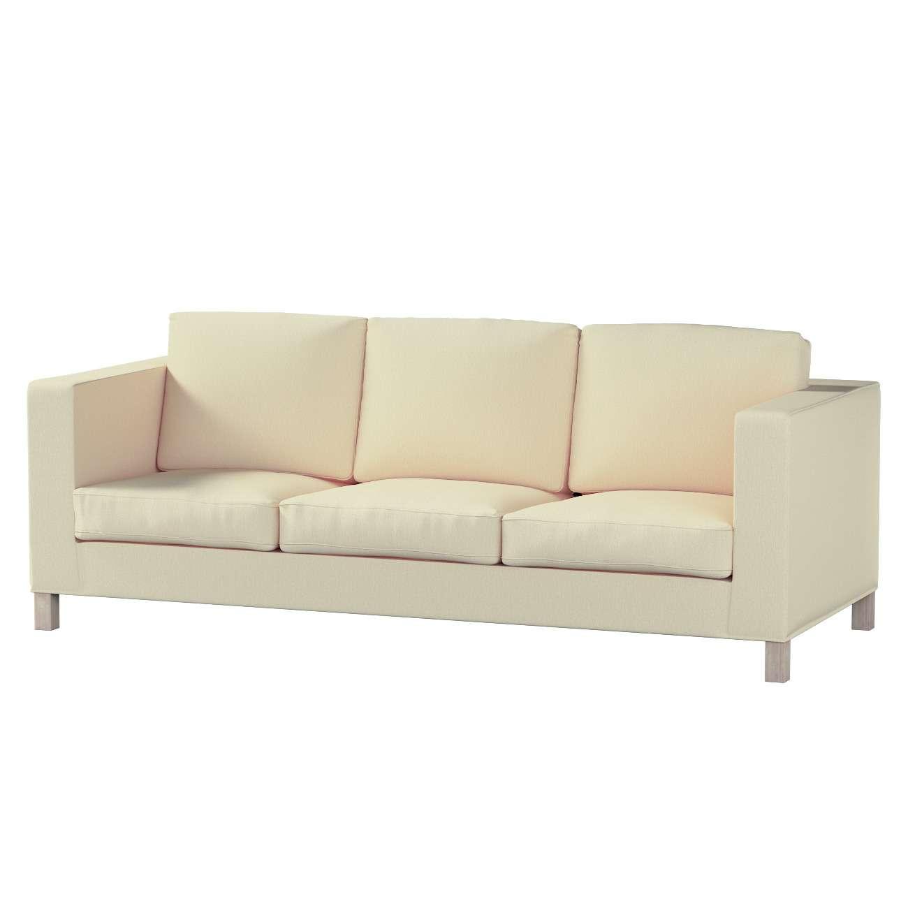 Pokrowiec na sofę Karlanda 3-osobową nierozkładaną, krótki Sofa Karlanda 3-os w kolekcji Chenille, tkanina: 702-22