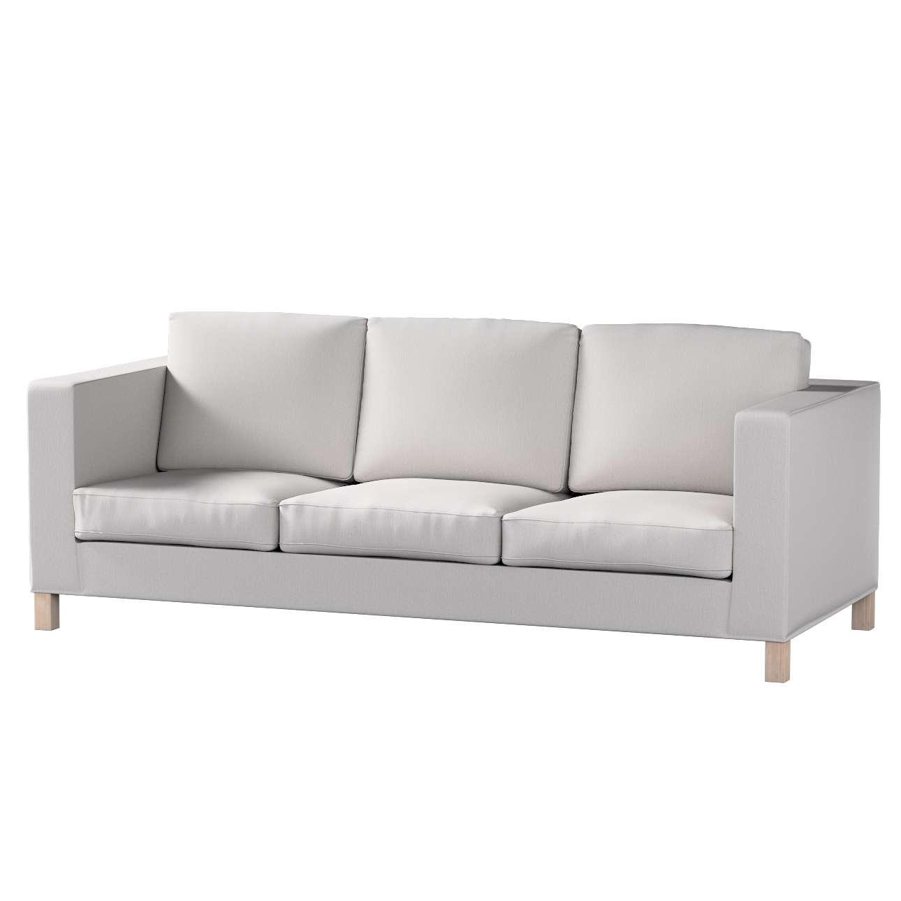 Pokrowiec na sofę Karlanda 3-osobową nierozkładaną, krótki Sofa Karlanda 3-os w kolekcji Chenille, tkanina: 702-23
