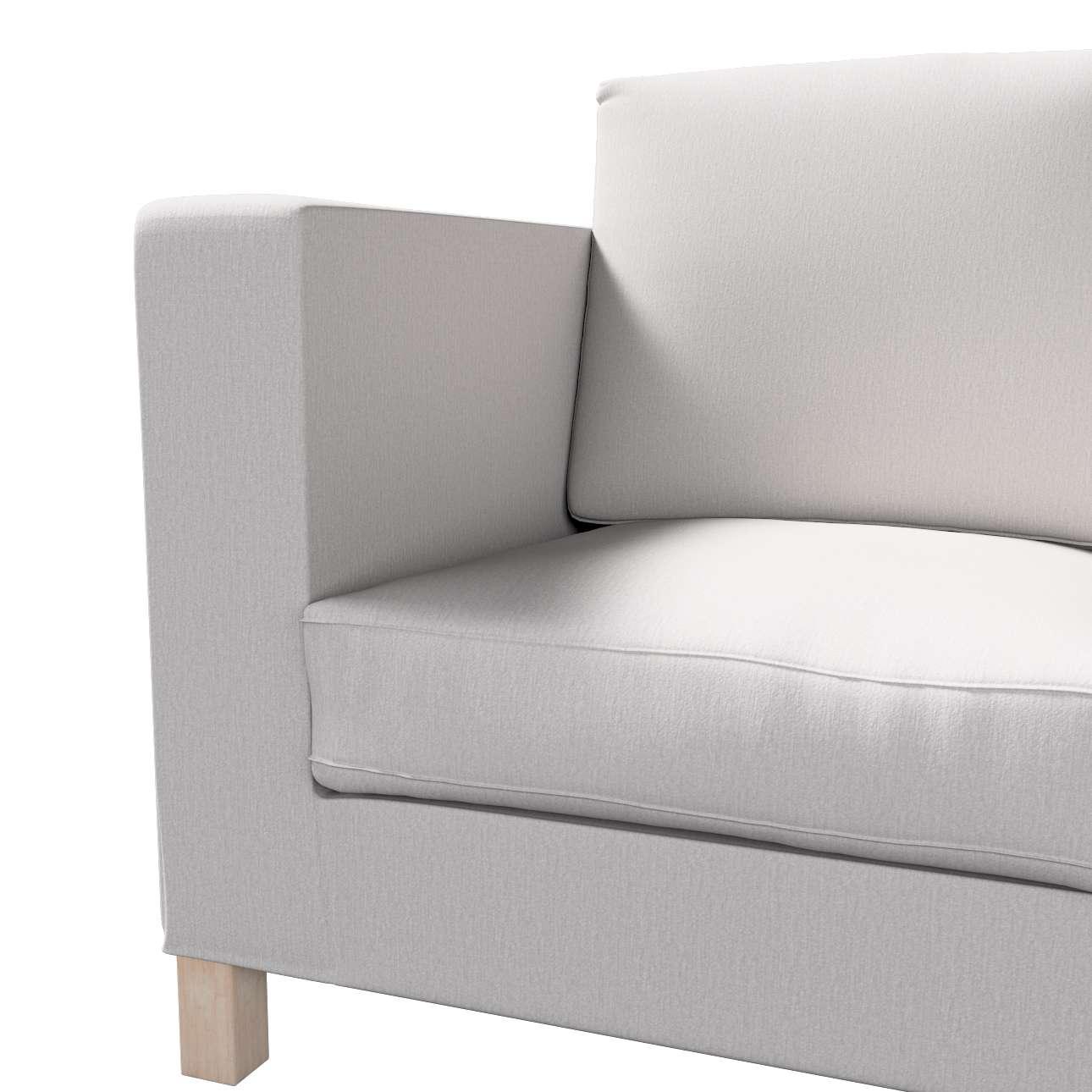 Pokrowiec na sofę Karlanda 3-osobową nierozkładaną, krótki w kolekcji Chenille, tkanina: 702-23