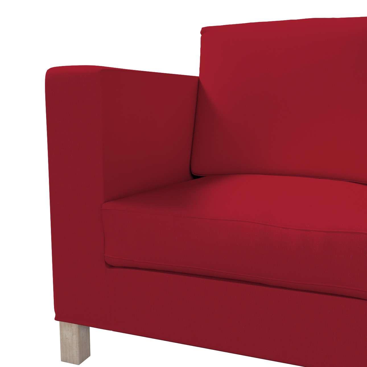 Pokrowiec na sofę Karlanda 3-osobową nierozkładaną, krótki w kolekcji Chenille, tkanina: 702-24