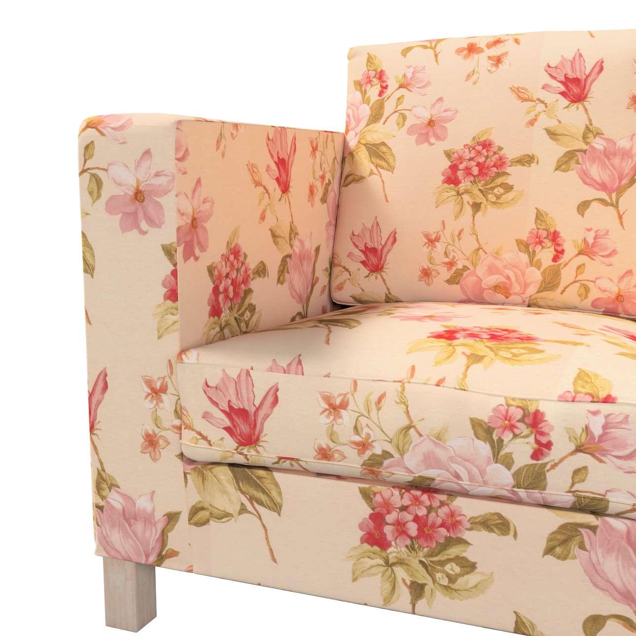 Karlanda 3-üléses  kanapé huzat nem kinyitható rövid a kollekcióból Londres Bútorszövet, Dekoranyag: 123-05