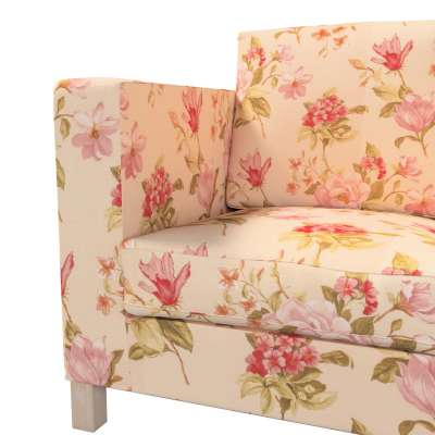 Pokrowiec na sofę Karlanda 3-osobową nierozkładaną, krótki w kolekcji Londres, tkanina: 123-05