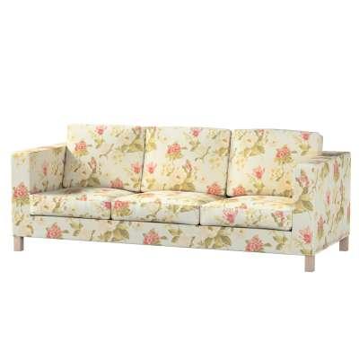 Bezug für Karlanda 3-Sitzer Sofa nicht ausklappbar, kurz von der Kollektion Londres, Stoff: 123-65