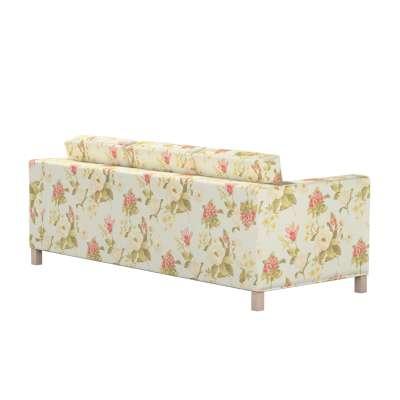 Karlanda 3-üléses  kanapé huzat nem kinyitható rövid a kollekcióból Londres Bútorszövet, Dekoranyag: 123-65
