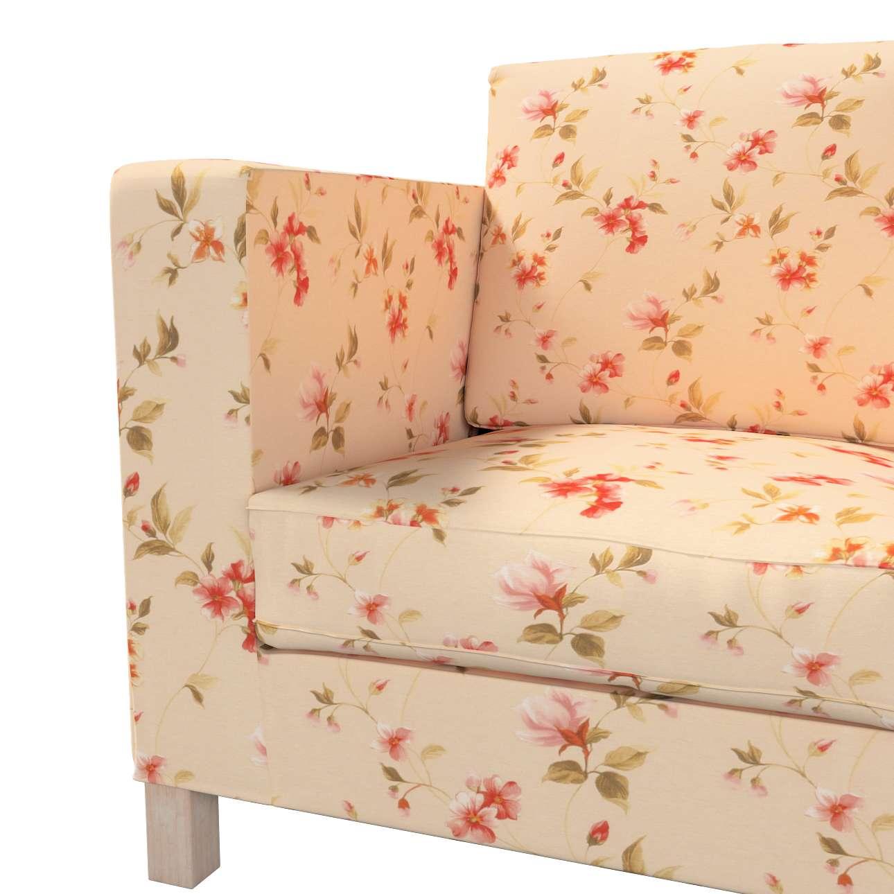 Bezug für Karlanda 3-Sitzer Sofa nicht ausklappbar, kurz von der Kollektion Londres, Stoff: 124-05