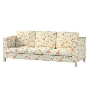 Pokrowiec na sofę Karlanda 3-osobową nierozkładaną, krótki Sofa Karlanda 3-os w kolekcji Londres, tkanina: 124-65