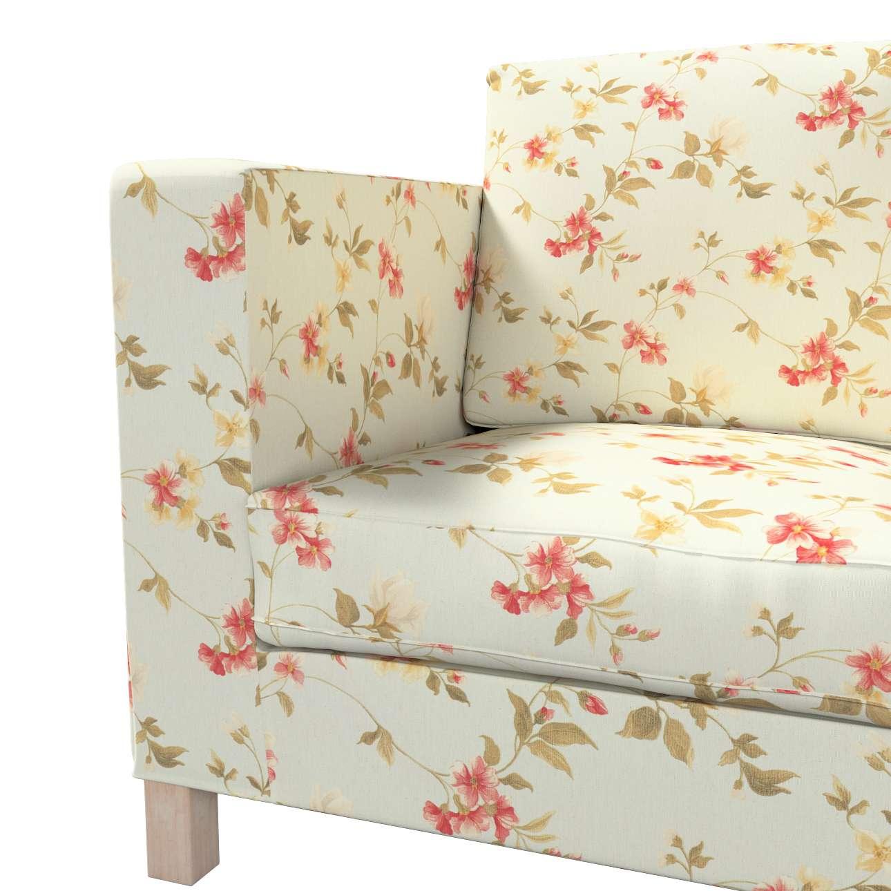 Potah na pohovku IKEA  Karlanda 3-místná nerozkládací, krátký v kolekci Londres, látka: 124-65