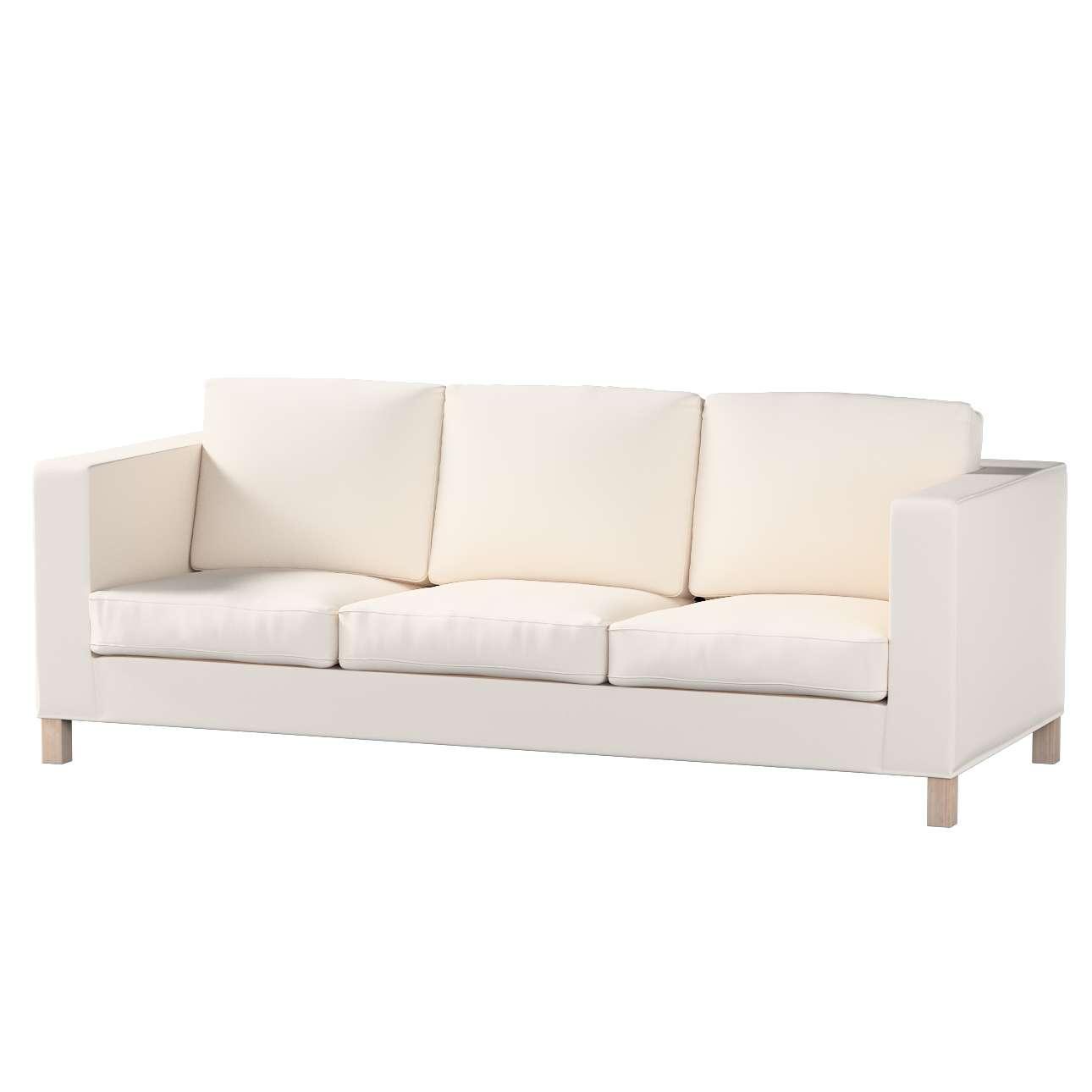 Pokrowiec na sofę Karlanda 3-osobową nierozkładaną, krótki Sofa Karlanda 3-os w kolekcji Etna , tkanina: 705-01
