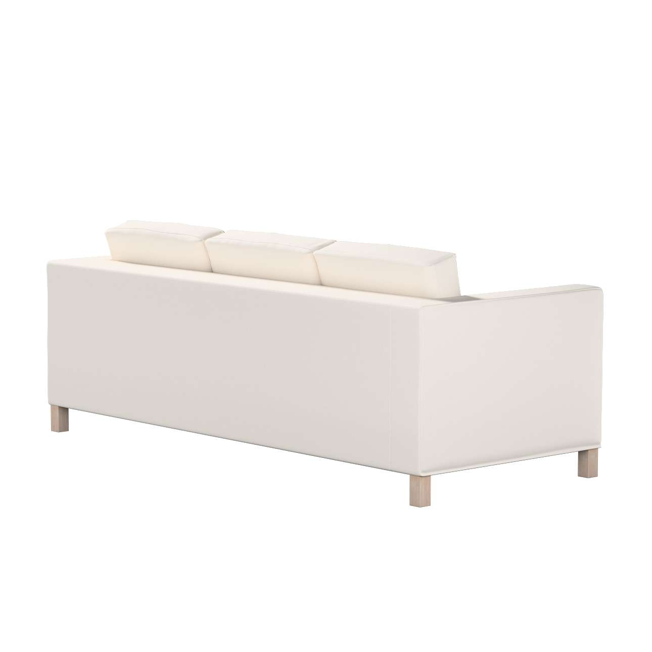 Bezug für Karlanda 3-Sitzer Sofa nicht ausklappbar, kurz von der Kollektion Etna, Stoff: 705-01