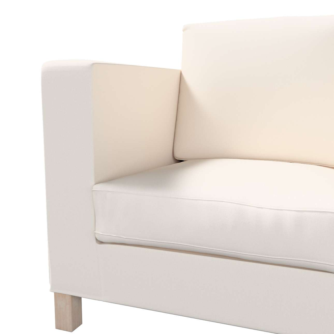Karlanda klädsel <br>3-sits soffa - kort klädsel i kollektionen Etna, Tyg: 705-01