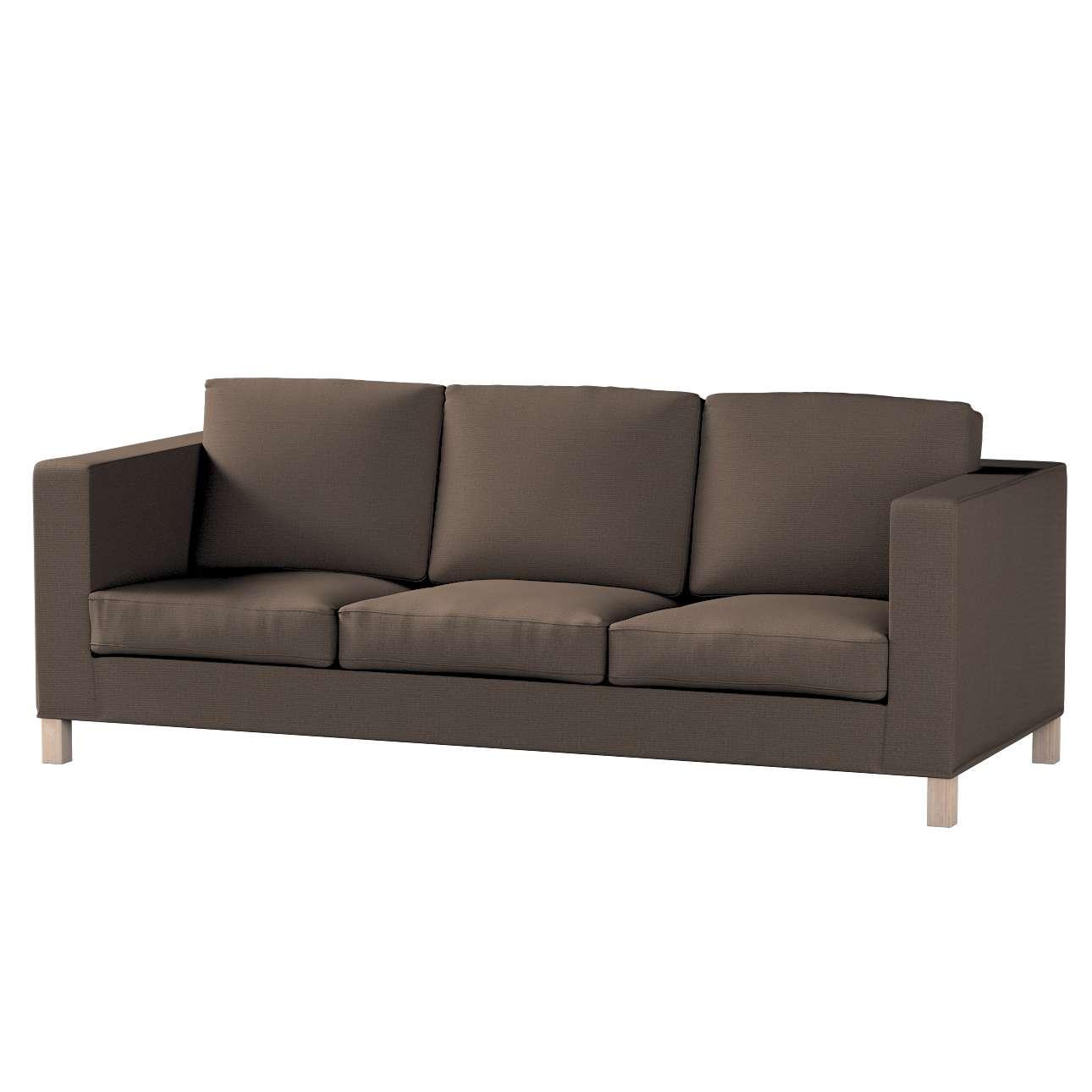 Potah na pohovku IKEA  Karlanda 3-místná nerozkládací, krátký pohovka Karlanda 3-os v kolekci Etna, látka: 705-08