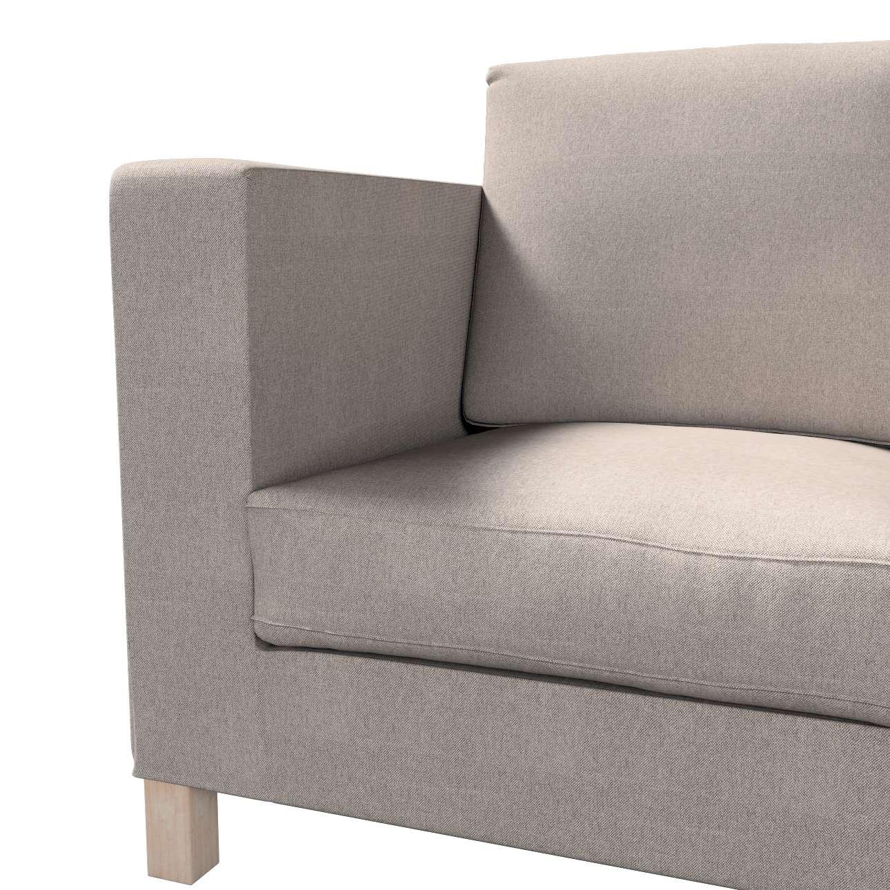 Pokrowiec na sofę Karlanda 3-osobową nierozkładaną, krótki w kolekcji Etna, tkanina: 705-09