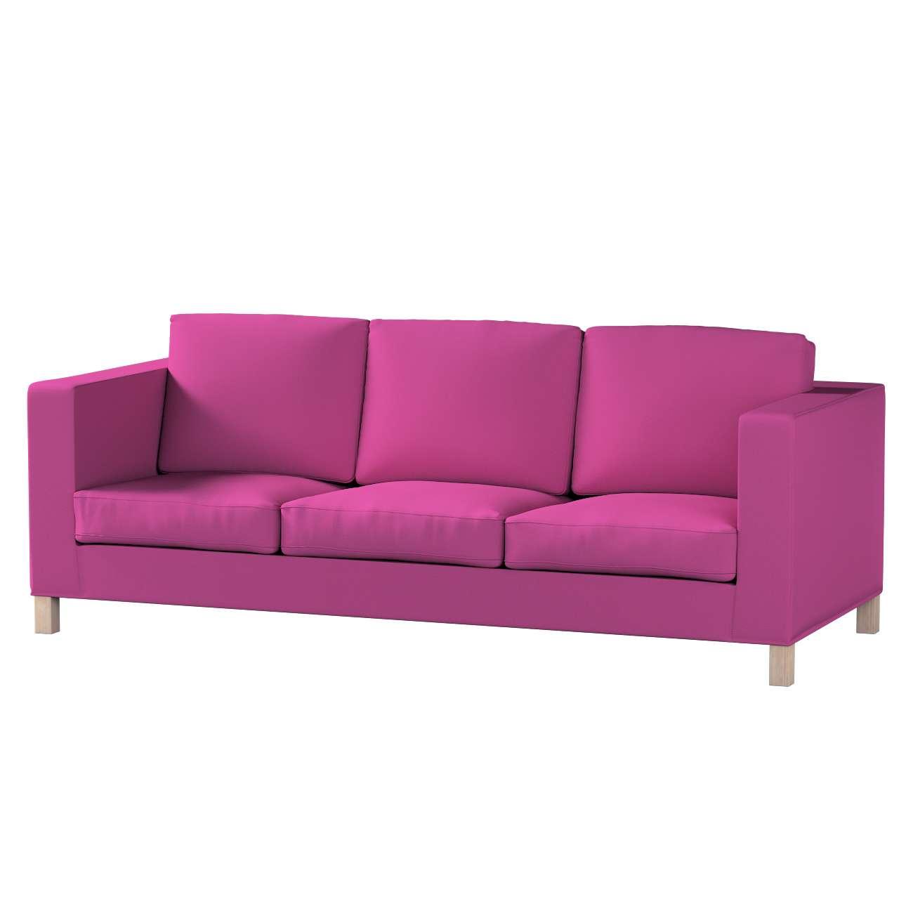 Karlanda klädsel <br>3-sits soffa - kort klädsel i kollektionen Etna, Tyg: 705-23
