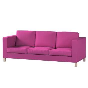 Pokrowiec na sofę Karlanda 3-osobową nierozkładaną, krótki w kolekcji Etna , tkanina: 705-23