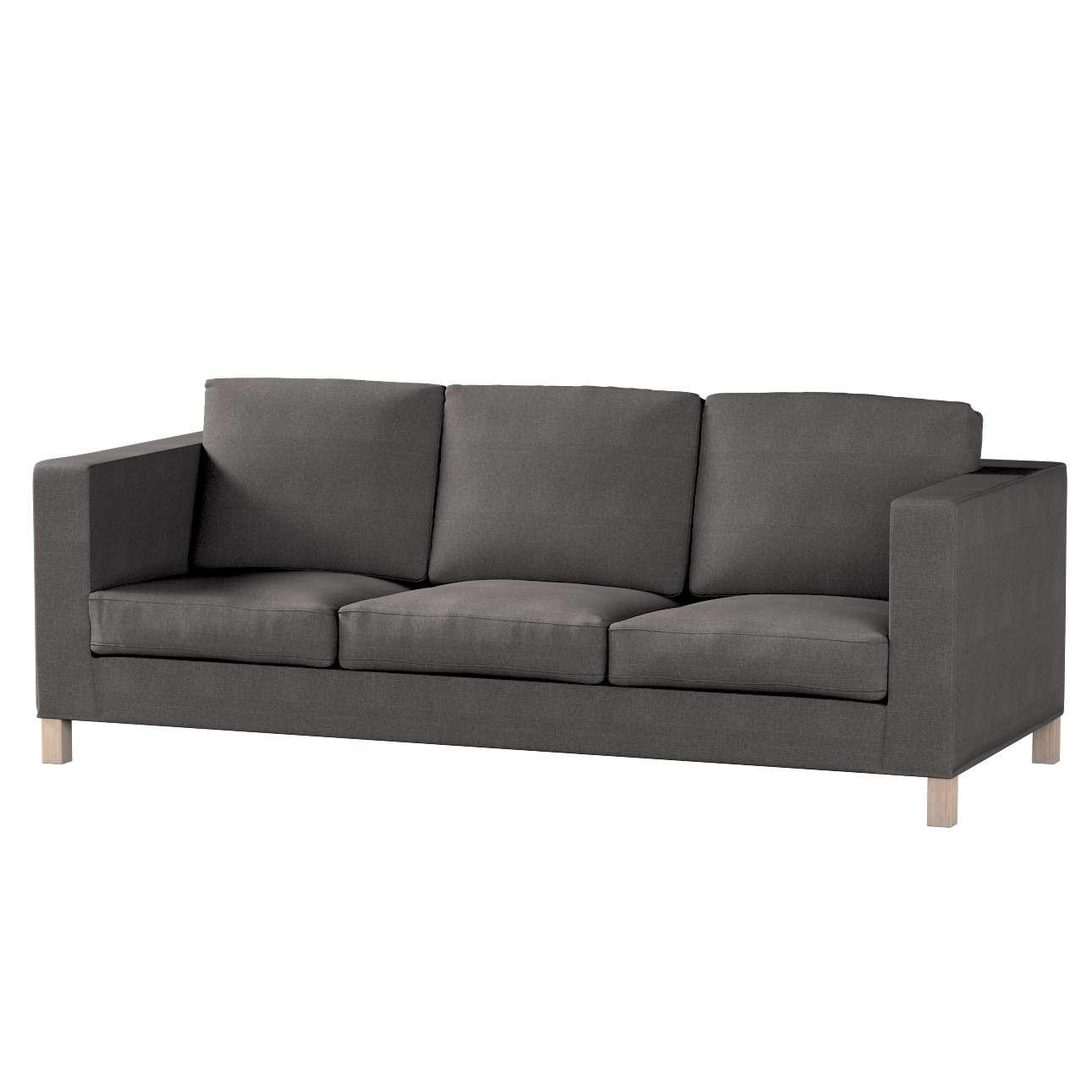 Potah na pohovku IKEA  Karlanda 3-místná nerozkládací, krátký pohovka Karlanda 3-os v kolekci Etna, látka: 705-35