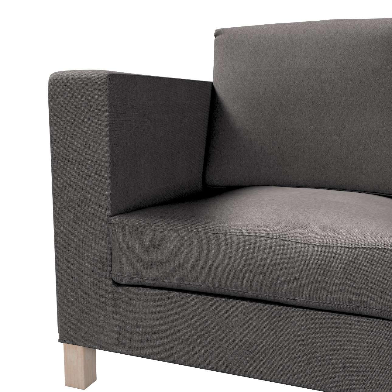 Karlanda klädsel <br>3-sits soffa - kort klädsel i kollektionen Etna, Tyg: 705-35